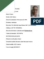Curriculum Vita Andrea