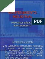 Mantenimiento Industrial, Electrico
