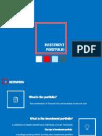 Investment Portfolio Ppt