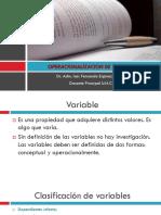 Unidad 6 OPERACIONALIZACION DE VARIABLES.ppsx