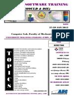 Procast Software Training-Jan 27, 2015