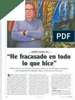 Reportaje de Revista Noticias a Gabriel Levinas, Junio de 2017