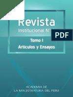 Academia de La Magistratura - Articulos y Ensayos