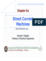 Chapter 5 - Direct Current Machines Part I