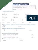 Área de Matematica - Evalúa 8 - Protocolo