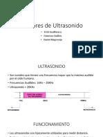 Sensores de Ultrasonido
