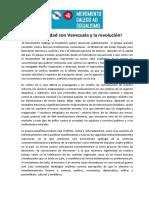 Español Comunicado Del Movimiento Gallego Al Socialismo