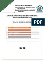 Trabajo de Investigación Cuarta Ley de La Molienda1