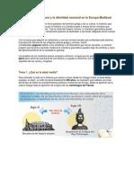 Unidad 3. La Literatura y La Identidad Nacional en La Europa Medieval