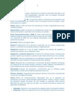 Terminos Técnicos Psicologia