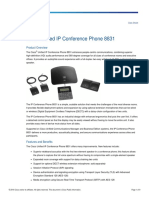 Cisco Unified IP Conference Phone 8831 Data Sheet