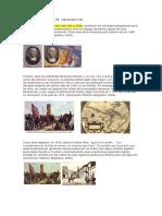 Fechas y Suscesos de Colonizacion