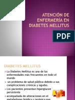 Atencion de Enfermeria en Diabetes Mellitus