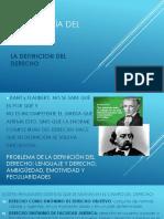 Sociología Del Derecho - Definicion Del Derecho