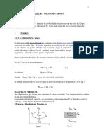 Ciclo de Carnot Fisica II