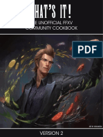 FFXV Recipe Cookbook