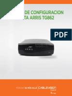 ARRIS TG862G