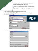 Como criar pdf