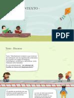 Texto, Contexto y Discurso