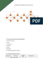 Diagrama de Procedencia Sillas