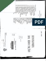 JOHN VAIZEY - Economia Da Educacao0001
