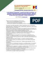 Didáctica de Los Procesos de E-A y La Motivación