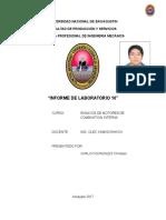Laboratorio Numero 10 - Ensayos MCI - COMPLETO