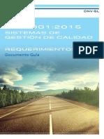 ISO 9001 2015 Documento Guía