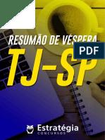Resumão de Véspera - TJ-SP 2017 - Estratégia