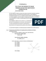 Resolución de estructuras indeterminadas por métodos iterativos