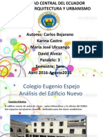 Analisis Sincronico-Edificio Nuevo P3