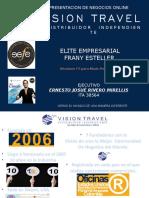Presentación Online Vision Travel
