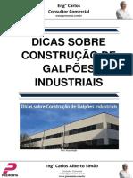 Dicas Sobre Construção Galpões Industriais
