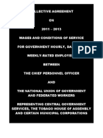 Collective Agreement Between the Chief Personnel Officer and the National Union of Government and Federated Workers, 2011 - 2013_0