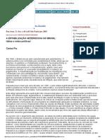 A Estabilização Heterodoxa No Brasil_ Idéias e Redes Políticas (1)