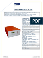 Ultrasonic Generator VB 35 kHz