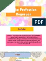 Etika Profession Keguruan