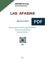 05020060 ARDILA - Las Afasias (Cap. 3 Daño Cerebral en La Afasia)