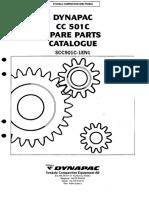 Manual de Partes Rodillo Compactador DYN CC501C