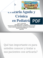 Urticaria en Pediatria 070417 Of
