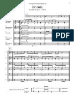 Oriental - Score