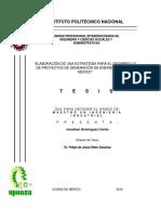 Elaboracion de Una Estrategia Para El Desarrollo de Proyectos de Generacion de Energia Eolica en Mexico