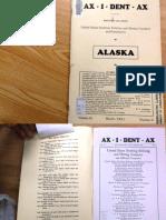 Ax i Dent Aux, 1931, Alaska