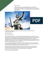 Antropología Jurídica y Los Sistemas Normativos