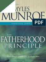 Fatherhood Principle - Myles Munroe