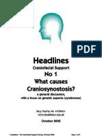 HL1 What Causes Craniosynostosis