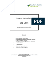 Emergency Lighting Log Book