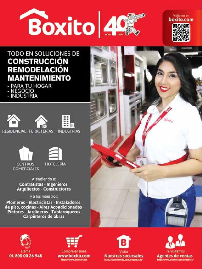 1dbe97d3d8604 Catálogo General Boxito 2018