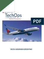 A350XWB Acronym Guide