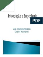 Introducao a EngenhariaAulas01e02